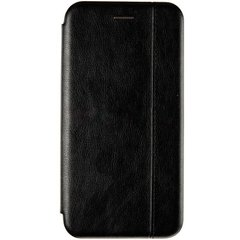 Чехол книжка для Huawei P40 Lite Book Cover Leather Gelius Черный