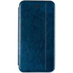 Чехол книжка для Huawei P40 Lite Book Cover Leather Gelius Синий