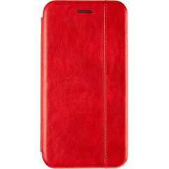 Чехол книжка для Huawei P40 Lite Book Cover Leather Gelius Красный