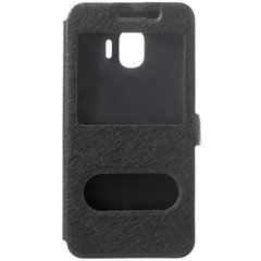 Чехол книжка для Samsung Galaxy J2 2018 (J250) View Cover Черный