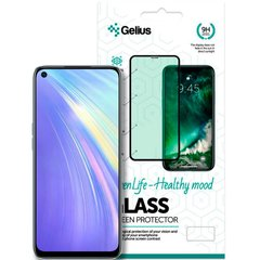Защитное стекло для Realme 6 Gelius Pro 3D Green Life (Eyes protection)