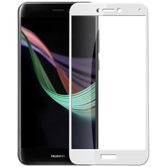 Защи тное стекло для Huawei P8 Lite 2017 3D Tempered Glass Белое