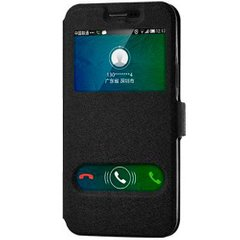 Чехол книжка для Samsung Galaxy J7 Neo J701 View Cover Черный