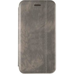 Чехол книжка для Huawei Nova 4 Book Cover Leather Gelius Серый