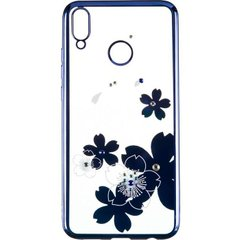 Силиконовый чехол для Huawei Honor 10 Lite Beckberg Breathe Flowers