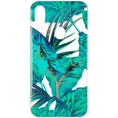 Силиконовый чехол для Samsung Galaxy A20 A205 Gelius Flowers Jungle