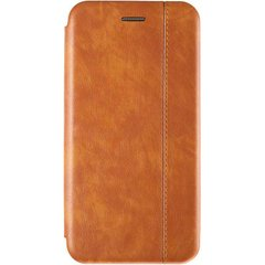 Чехол книжка для Xiaomi Mi Play Book Cover Leather Gelius Золотой